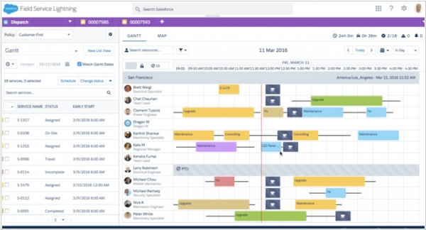 Salesforce Service Cloud adds new field service product