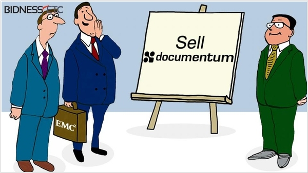 EMC wants to sell Documentum