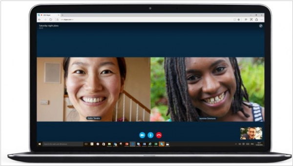 Skype voice and video calls now work plugin-free in Microsoft Edge
