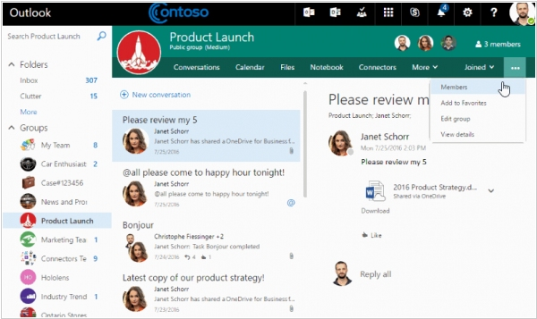 Office 365 now lets you invite guests to groups