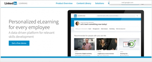 LinkedIn unveiled e-Learning service