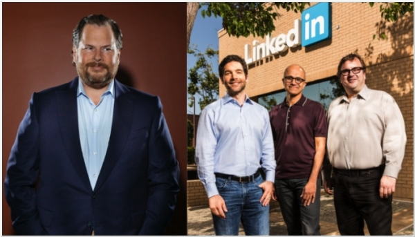 Salesforce wants to block Microsoft acquisition of LinkedIn