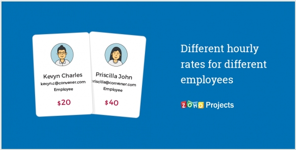 Zoho Projects adds staff-based billing