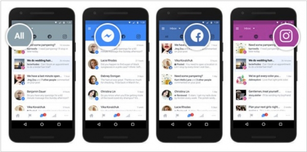 Facebook launched unified inbox for business