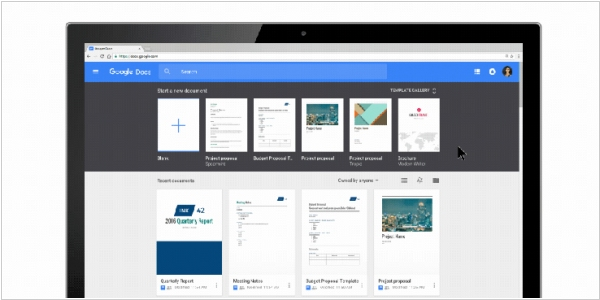Google Docs now let you create custom templates