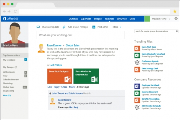 Microsoft retired Yammer as stand-alone service