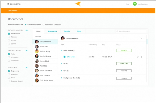Zenefits adds new tools for employee compliance
