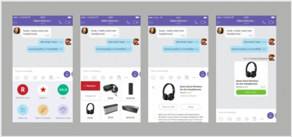 Viber adds e-commerce feature