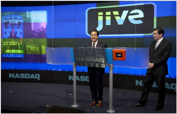 Collaboration software company Jive to be acquired by Aurea