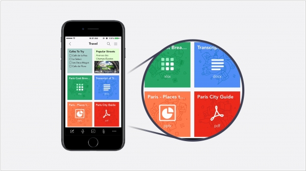 Zoho Notebook 3.0 adds File Card, Web Clipper for Safari, Import from Evernote