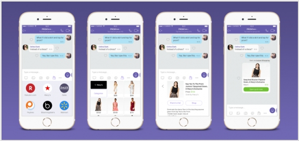 Viber acquired shopping keyboard startup Chatter Commerce