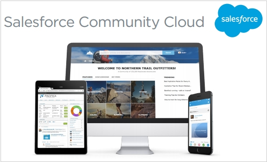 Salesforce launched Communities