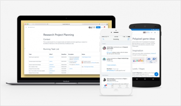 Dropbox Paper gets document previews