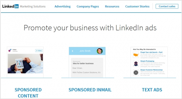 LinkedIn launched own advertising network