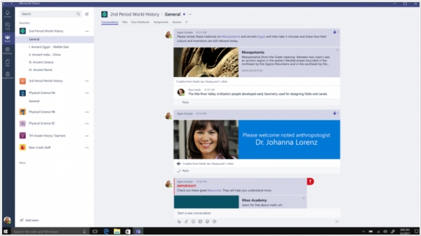 Microsoft Teams will replace Skype for Business