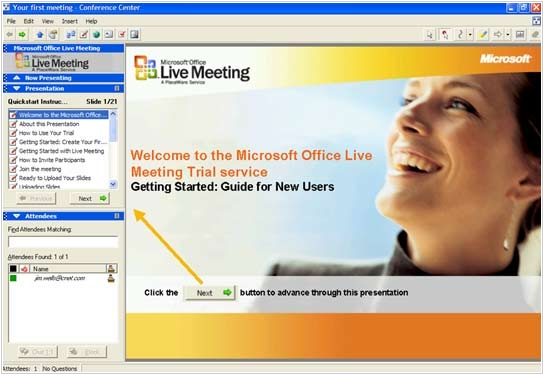 Microsoft to open offer three new Live Meeting subscription plans