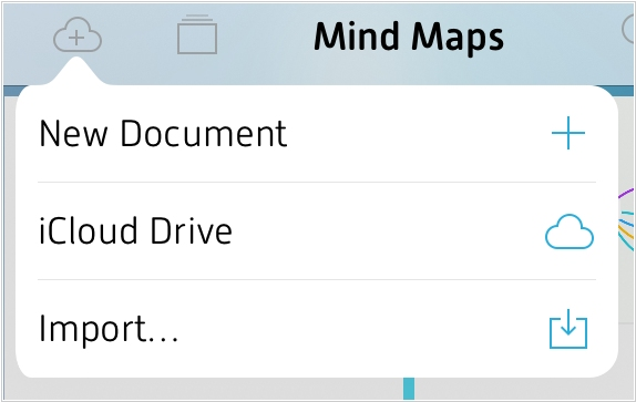 MindNode for iOS now supports all cloud storages