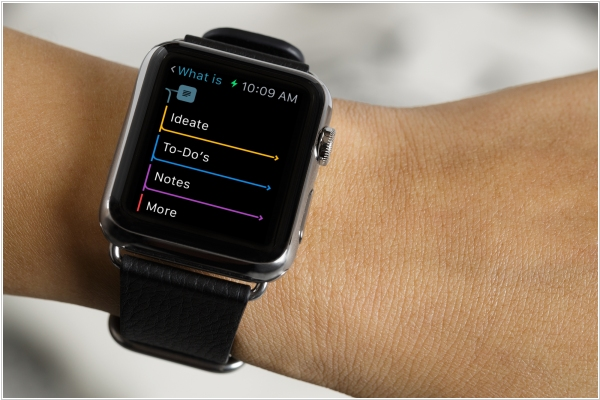 MindNode brings mind-mapping to Apple Watch