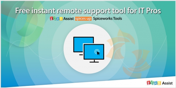 Zoho Assist teams up with Spiceworks