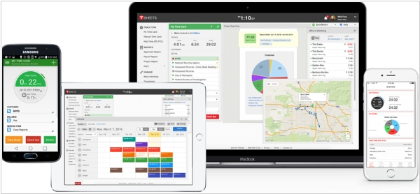 Intuit acquired time-tracker TSheets