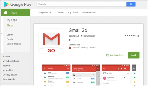 Google launches a lightweight Gmail Go app for Android