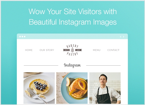 Wix integrates with Instagram