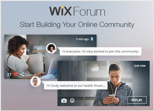 Wix adds forum to its online CMS