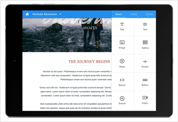 Weebly for Android is available