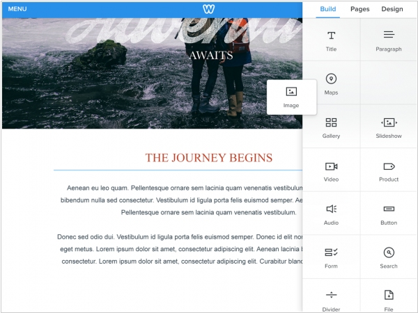Weebly introduced mobile app for iPad
