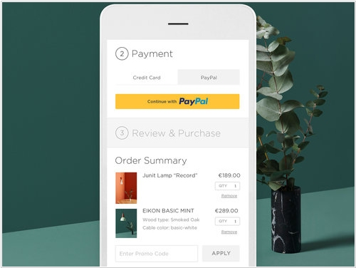 Squarespace integrates with Paypal