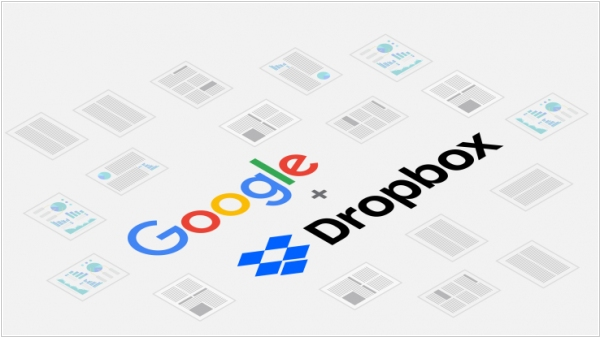 Dropbox adds native G Suite integration