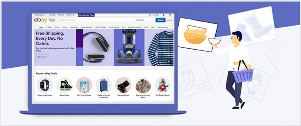 Shopify integrates with eBay