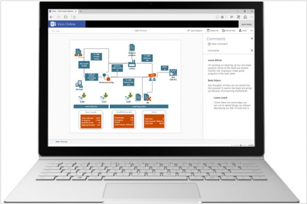 Microsoft releases public version of Visio Online for Office 365 commercial users