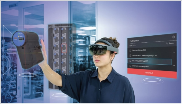 Microsoft Visio integrates with Hololense