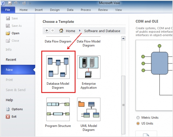 Microsoft Improves Database Diagramming in Visio Pro