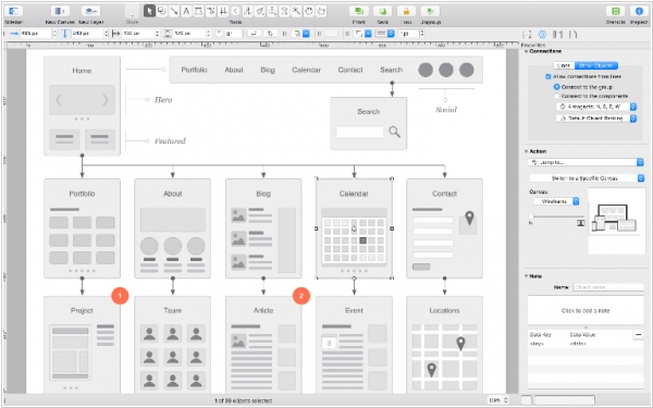 OmniGraffle 7 plays better with other graphics apps