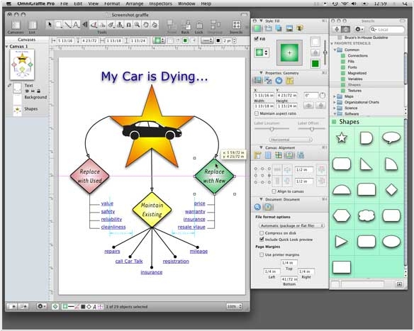 OmniGraffle 5 adds support for Microsoft Visio files