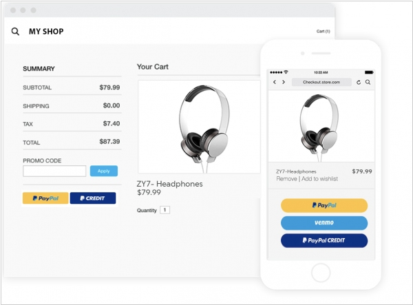 PayPal Checkout improves personalization