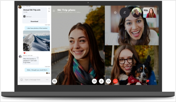 Skype 8.0 adds HD video, encryption & call recording
