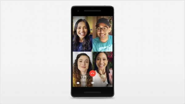 WhatsApp launched encrypted group video calls