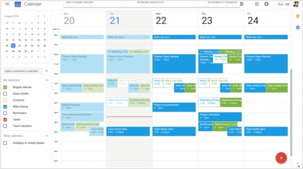 G Suite apps and Google Calendar are getting Gmail's side panels
