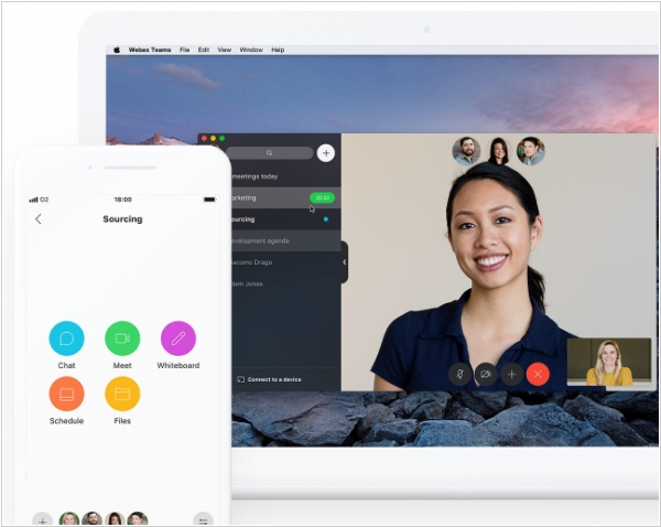 Video collaboration software - overview on Live Enterprise