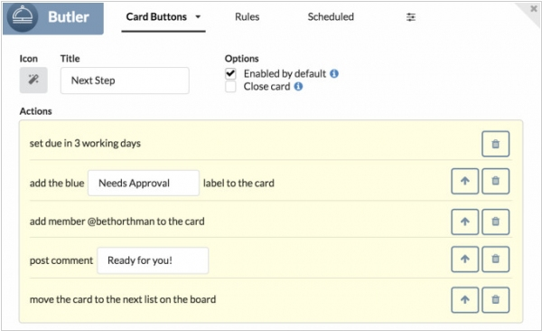 Trello acquired business process automation tool Butler
