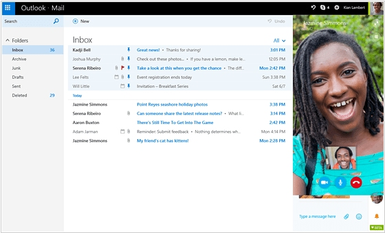 Microsoft unveiled big update to Outlook.com