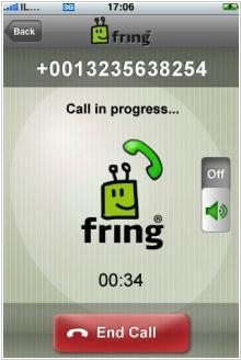 Fring VOIP and chat client goes mainstream