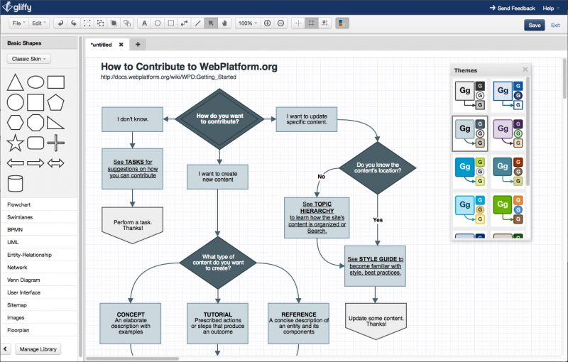 Top 7 gliffy alternatives gliffy is a web based diagram editor create and share flowcharts network diagrams floor plans user interface designs and other drawings online ccuart Gallery