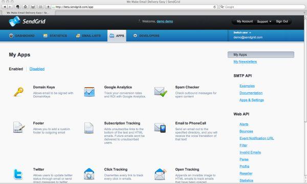 how to send email by sendgrid api