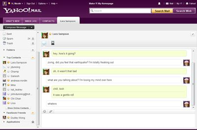 no chat rooms in yahoo messenger