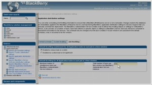BlackBerry Enterprise Service